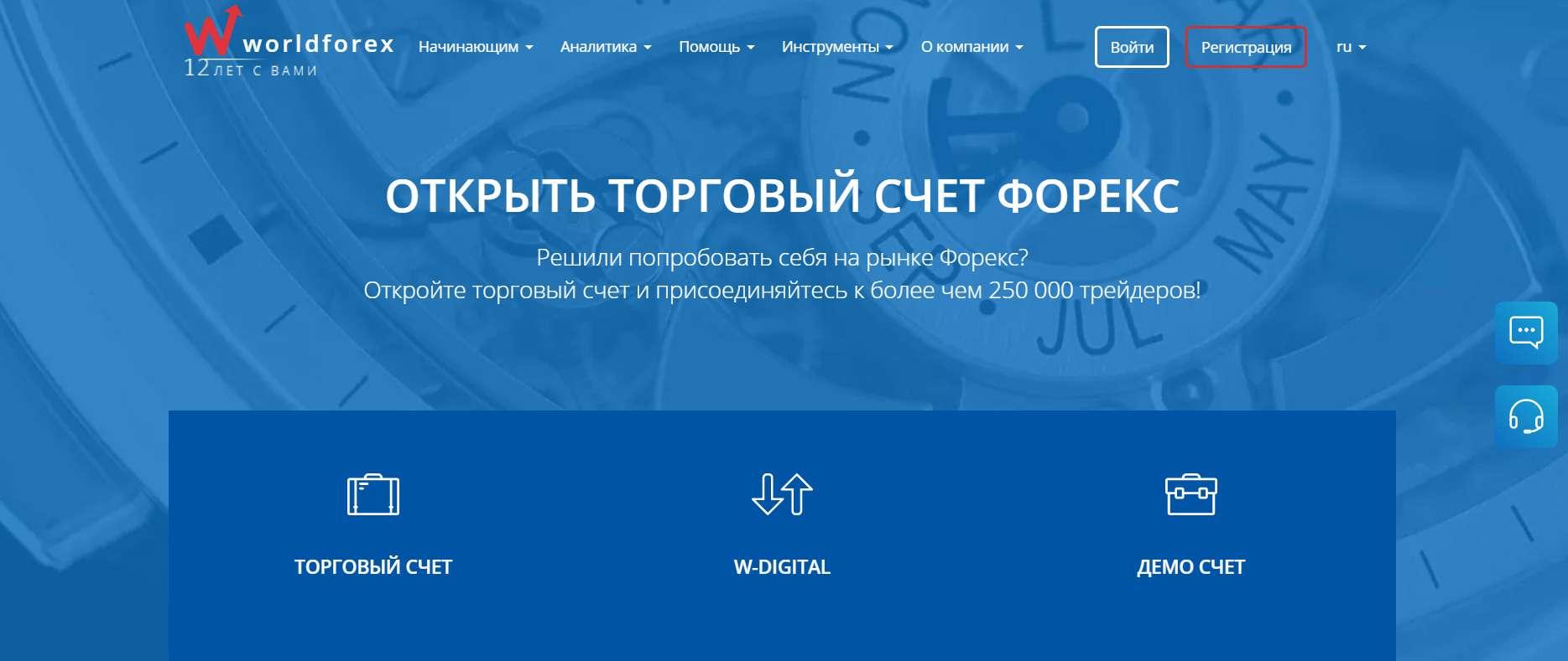 Обзор компании World Forex. Отзывы на проект. Стоит ли доверять?