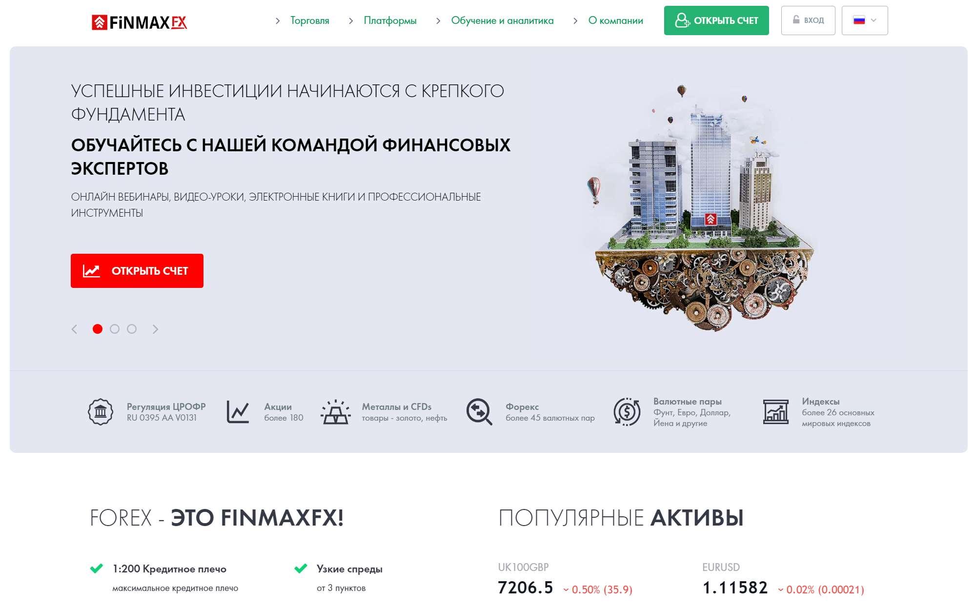 FINMAX - Зарабатываем с FinmaxFX, или как организовать прибыльную и быструю торговлю на Форекс.