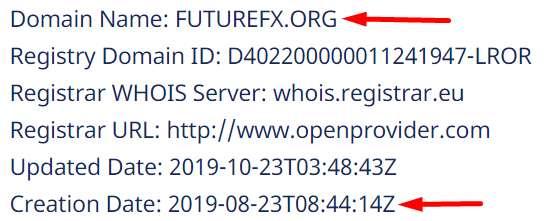 Псевдоброкер FutureFX.org - Future Management Systems. Старые лоотронщики!