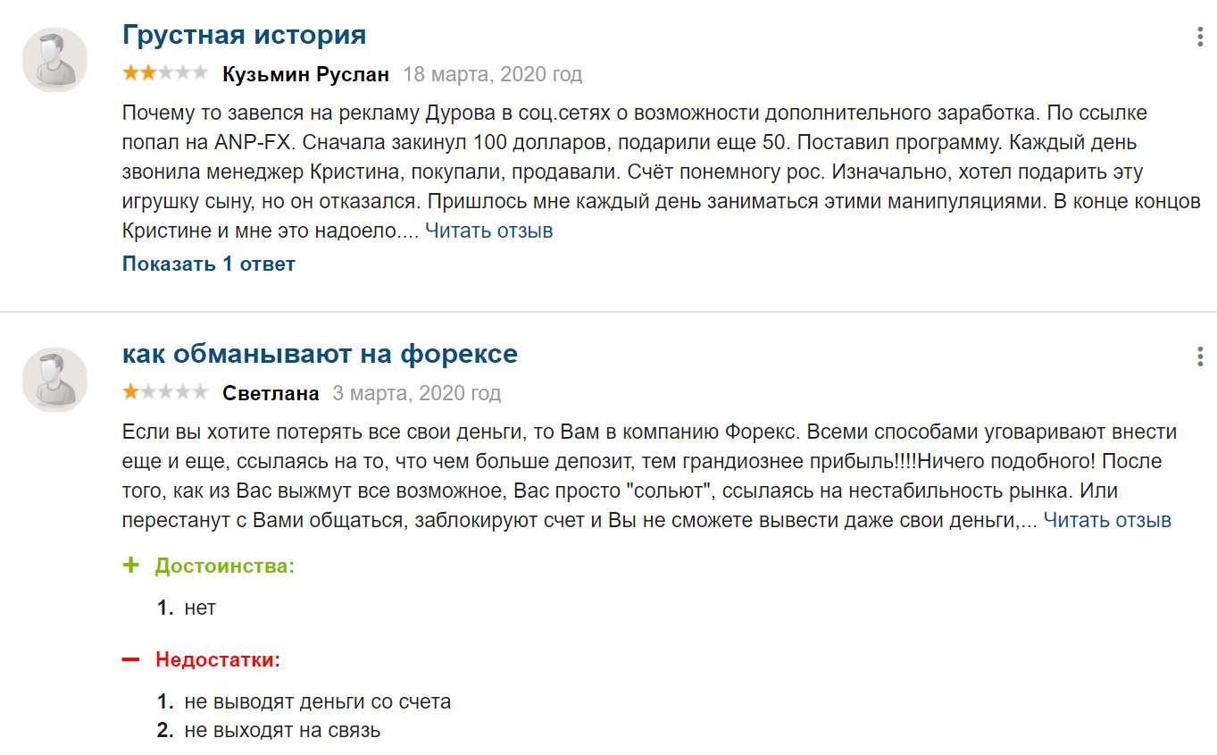 Псевдоброкер Anp-FX.com. Простенький лохотрон? Отзывы и обзор.