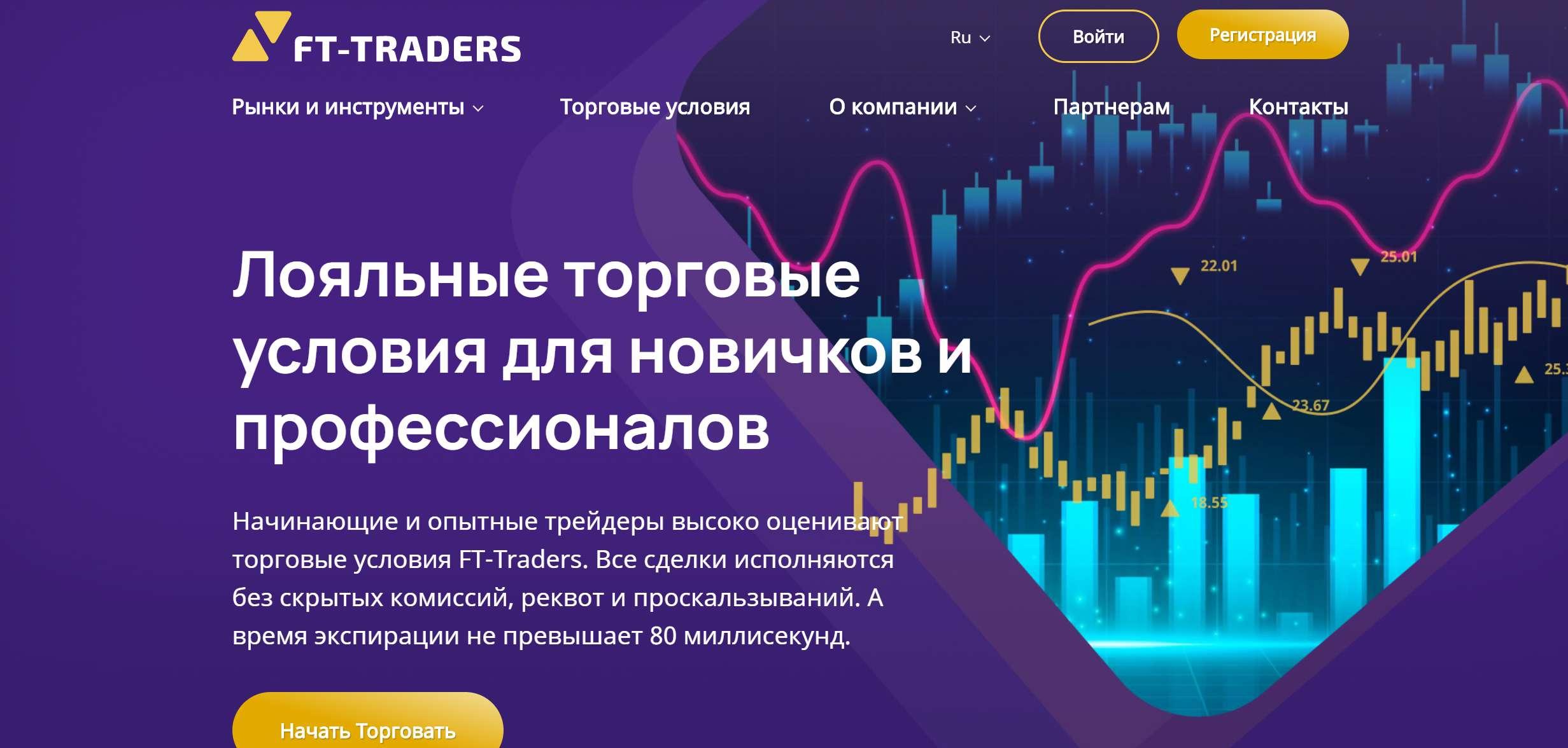 Псевдоброкер FT-Traders. Летите денежки в карман лохотронщиков.