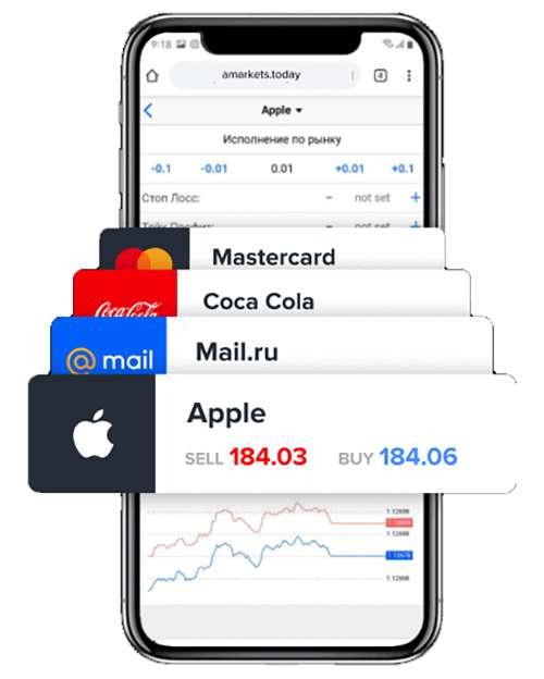 Торговля на форекс с мобильных устройств. Все очень просто с брокером Amarkets.