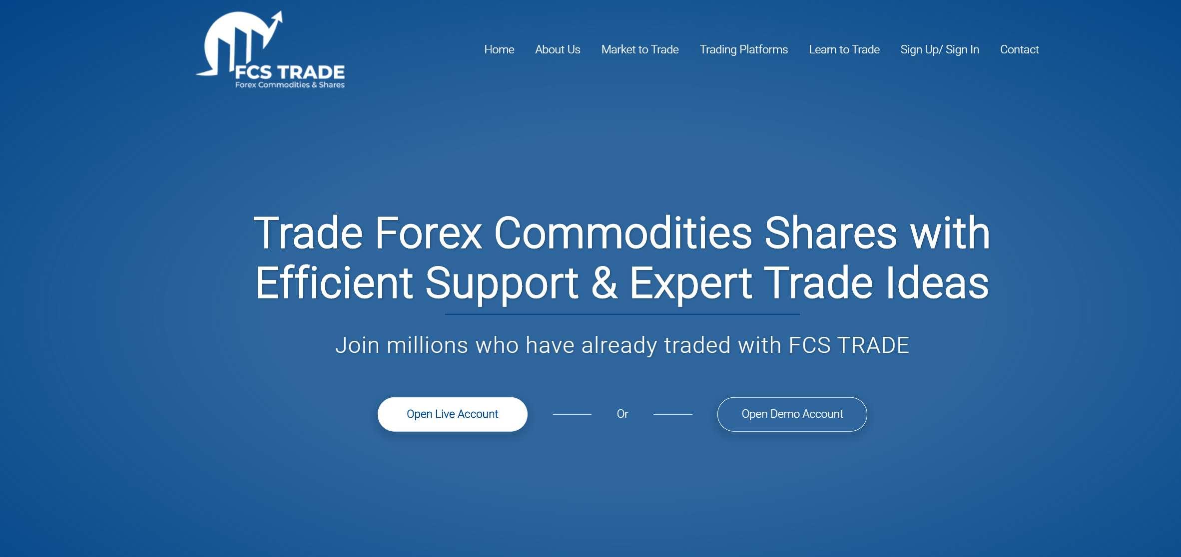 Обзор сервиса FCS Trade. Мошенники или реальный брокер?