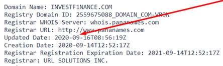 Псевдоброкер f1nance. Очередная попытка клонировать сайты-мошенники для развода новичков.