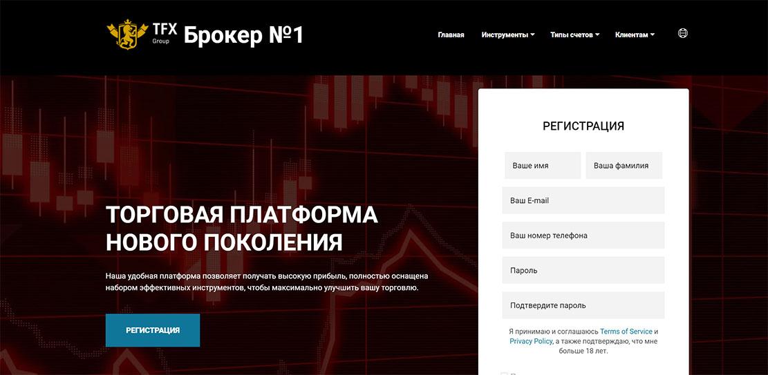Лохотронщики TFX Group. Псевдопроект с липовой регуляцией?