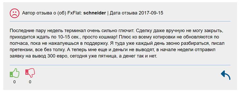 Брокер FXFlat опасен для сотрудничества? Реальные отзывы и обзор проекта.