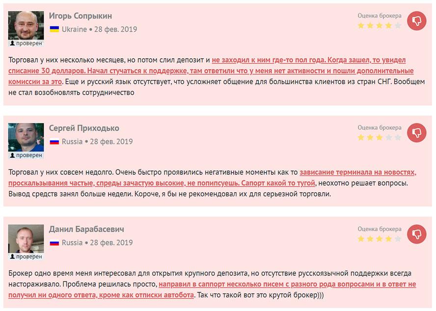 Данные про FXDD, старый брокер и домен а отзывы очень негативные, опасность!