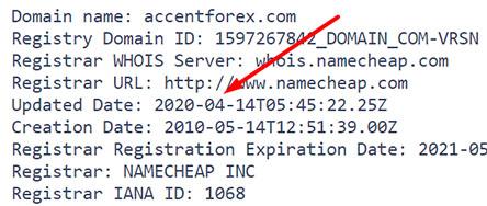 AccentForex - брокер с заморской регистрацией. Опасно сотрудничать! Отзывы.