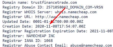 Обзор мошеннического проекта в сети интернет TrustFinance-Trade. Американские разводилы?
