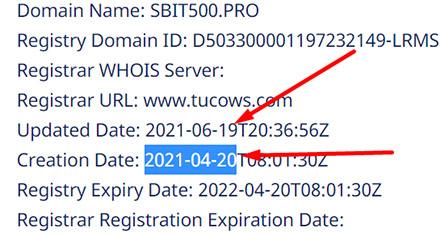 SBIT500 опасная контора и не лохотрон ли случайно? Отзывы и обзор.