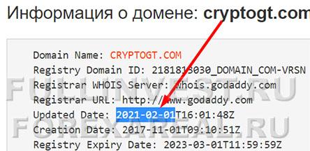 Крипто-лохотрон CryptoGT: нет места сомнениям?