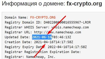 FXCR (fx-crypto.org) - опасен ли проект или можно доверять? Отзывы.